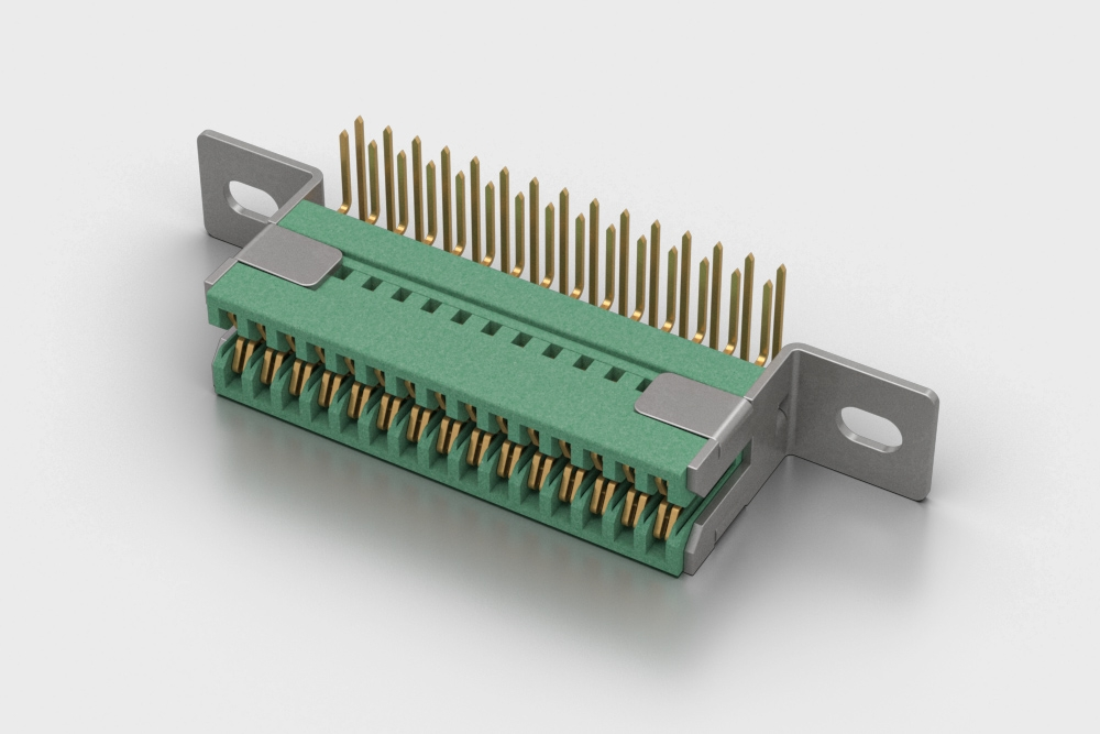 PCB Edge Card Connector Right Angle
